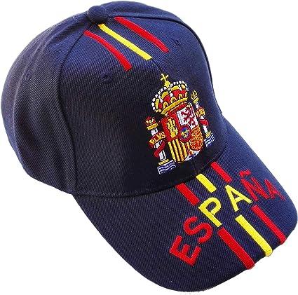 Gorra Escudo de España Mod.10 Azul: Amazon.es: Ropa y accesorios