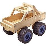 Red Tool Box Monster Truck Building Kit