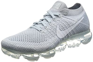 Nike Air Vapormax Flyknit OREO Men's sz 10 Pale Grey