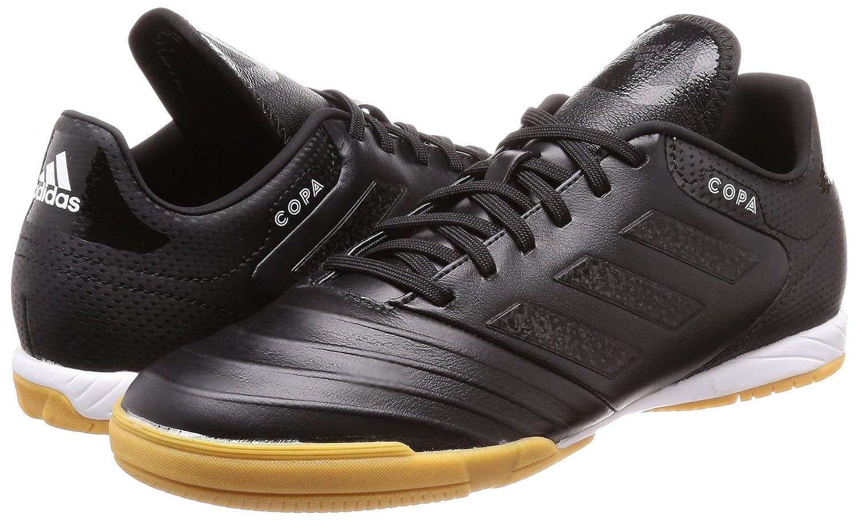 adidas Herren Copa Tango 18.3 in Futsalschuhe, WeißSchwarz, 47 13 EU