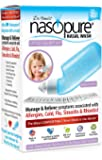 """Dr. Hana's Nasopure """"The Nicer Neti Pot"""" for Kids   Little Squirt Kit   4 Ounce Bottle with 20 Buffered Salt Packets   Nasal Irrigation for Natural Allergy Relief"""
