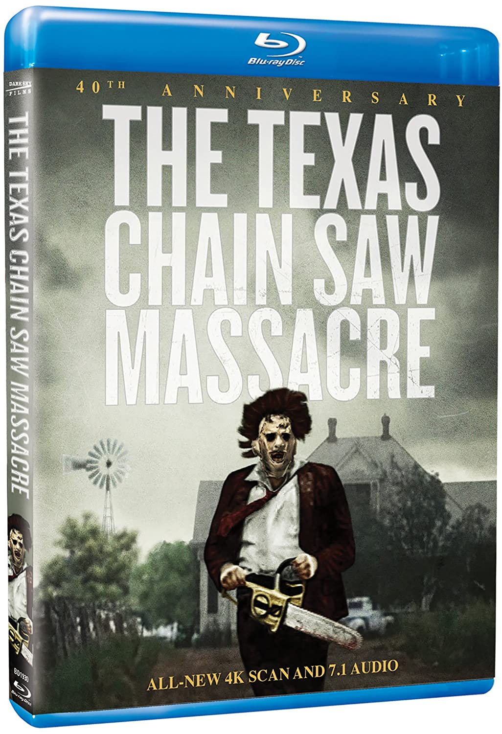Texas Chain Saw Massacre, The: 40th Anniversary Edition [Blu-ray] Paul A. Partain Marilyn Burns Allen Danziger Paul A Partain