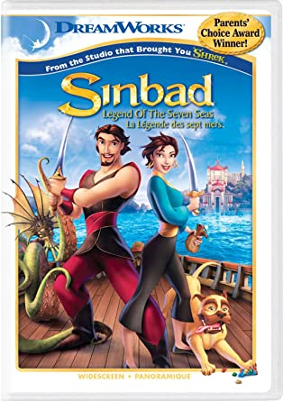 d5dea674 Amazon.com: Sinbad - Legend of the Seven Seas (Widescreen Edition ...