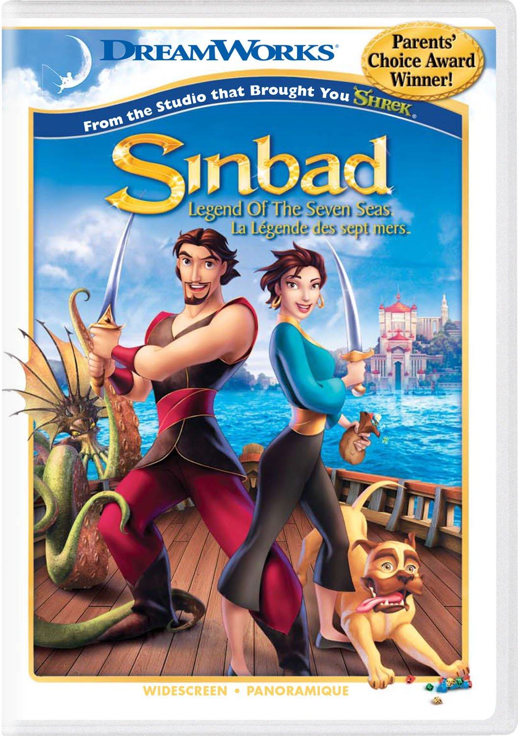 Sinbad - Legend of the Seven Seas (Widescreen Edition)