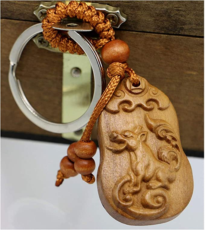 Chinese zodiac dog Dog Year of the dog Chinese new year Dog keychain Gifts for dog lovers Chinese zodiac Chinese dog Dog lover gifts