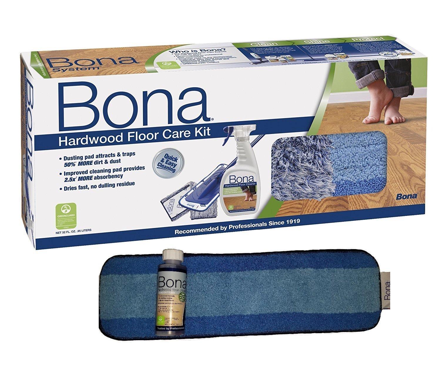 Bona 6 Piece Hardwood Floor Care System (Power Bundle)
