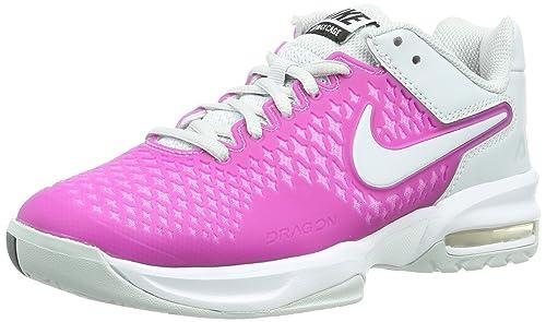 cheap for discount a4791 42f5b ... sale nike air max cage zapatillas de tenis para mujer color red violet  white c35e0 fb725