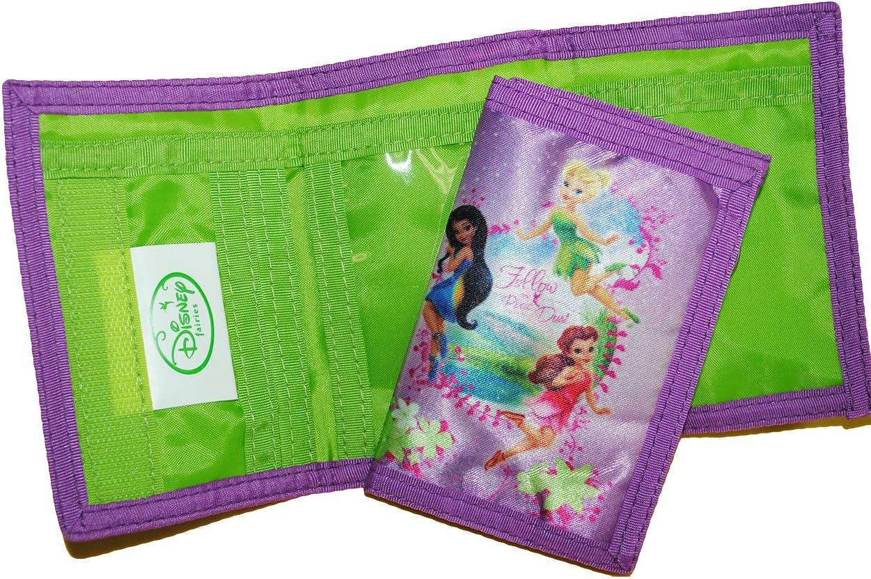 alles-meine.de GmbH Geldb/örse Geldbeutel Tnkerbell Portemonnaie Kinder Geldtasche Geld Buskarte Disney Fairies f/ür M/ädchen Fairy Tinkerbell