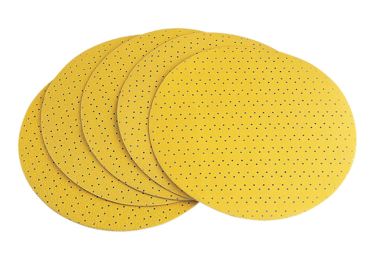 Pack of 25 Flex Velcro Sanding Paper Perforated to Suit WS-702 100 Grit