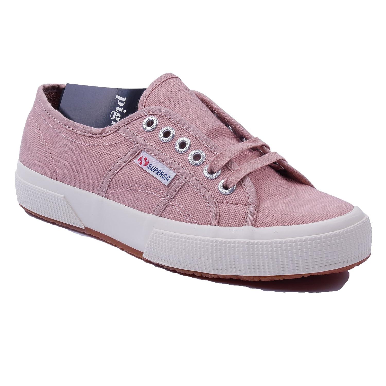 Pignolo-by-Superga Potuc-by-Pignolo - Zapatos de Cordones de Lona Para Mujer 37 EU Rosa-weiss