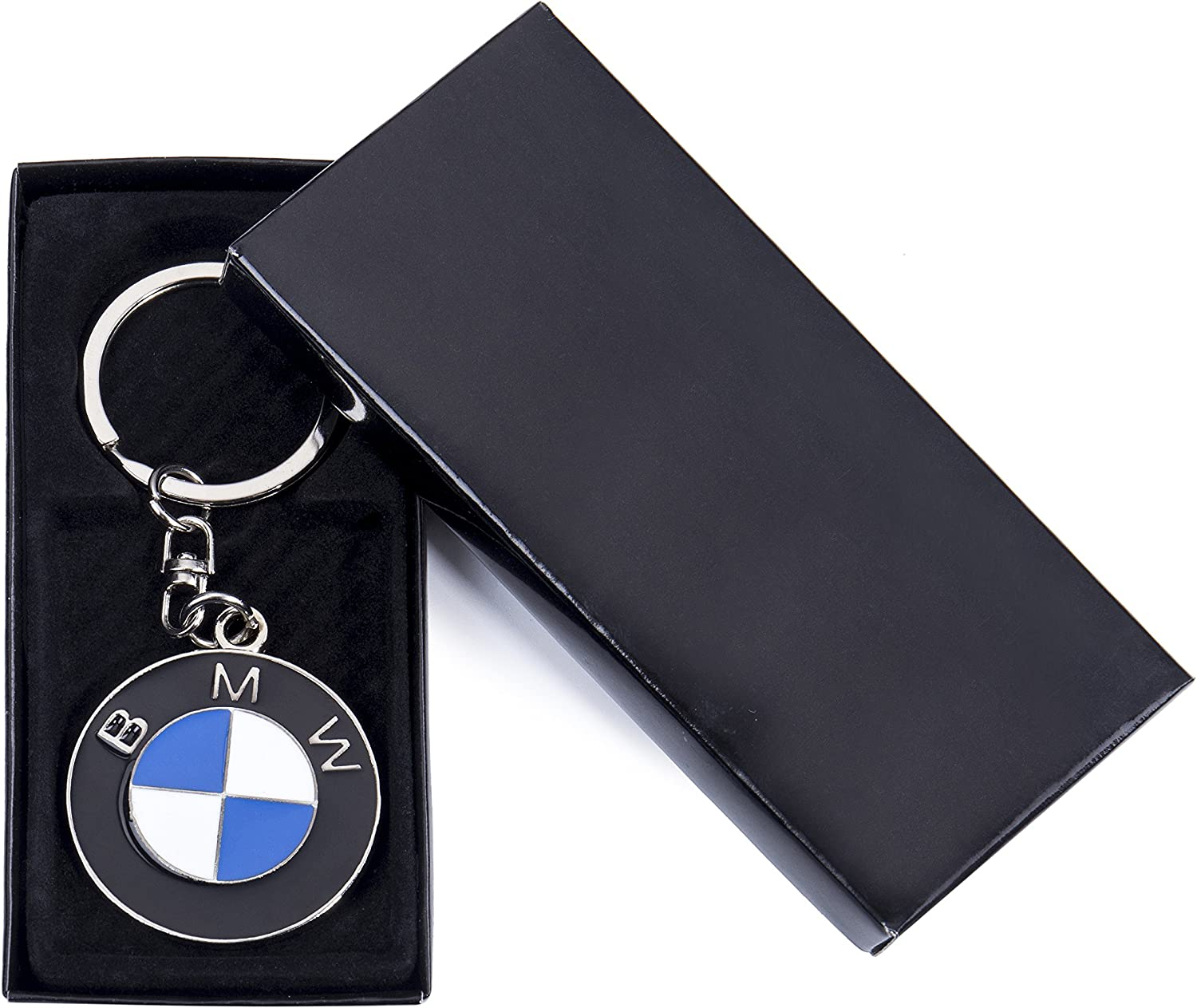 ACGOING 3D Premium Metal Alloy Key Holder,Best for Gifts Ford Car Key Chain Rings