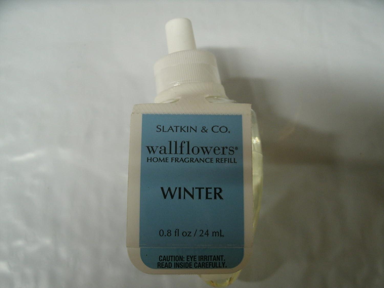 Bath and Body Works Slatkin & Co Wallflowers Home Fragrance Refill冬香り0.8 FL OZ / 24 ml B007JVAX1Y