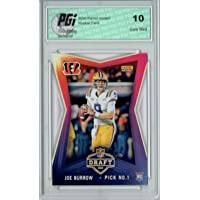 $39 » Joe Burrow 2020 Panini Instant #1 NFL Draft 8,156 Made Rookie Card PGI 10