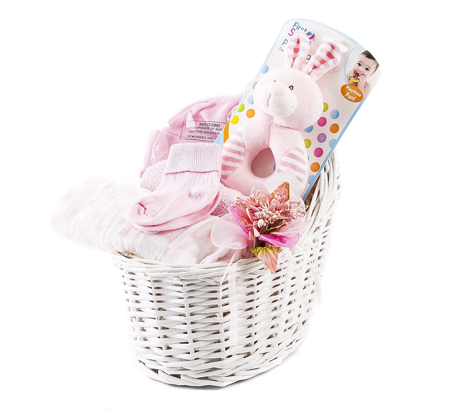 Wickers Just For Baby Hamper - GIRL   Wickers Gift Baskets