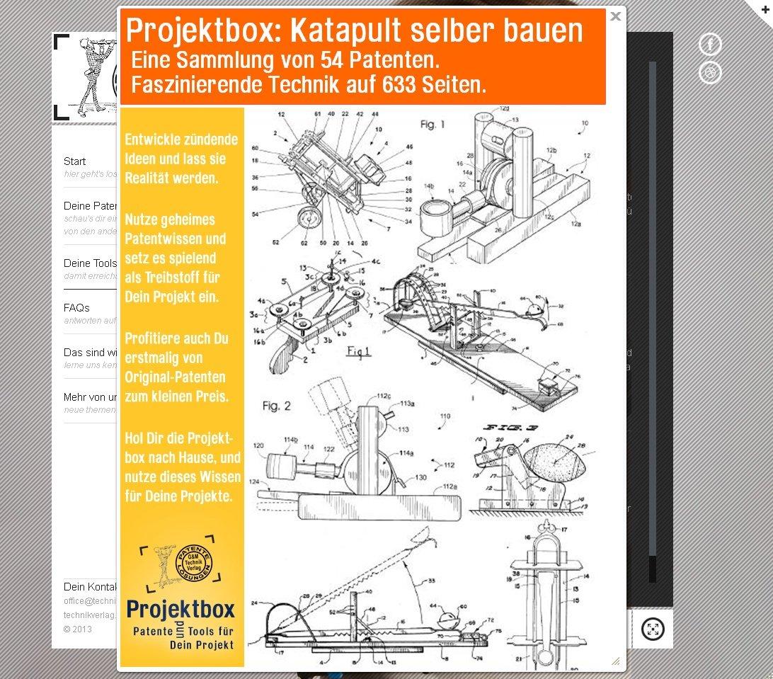 Werkbank selber bauen pdf  Katapult selber bauen: Deine Projektbox inkl. 54 Original-Patenten ...