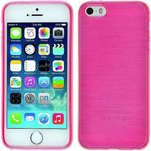 195 opinioni per PhoneNatic Custodia Apple iPhone 5 / 5s / SE Cover rosa caldo brushed iPhone 5 /