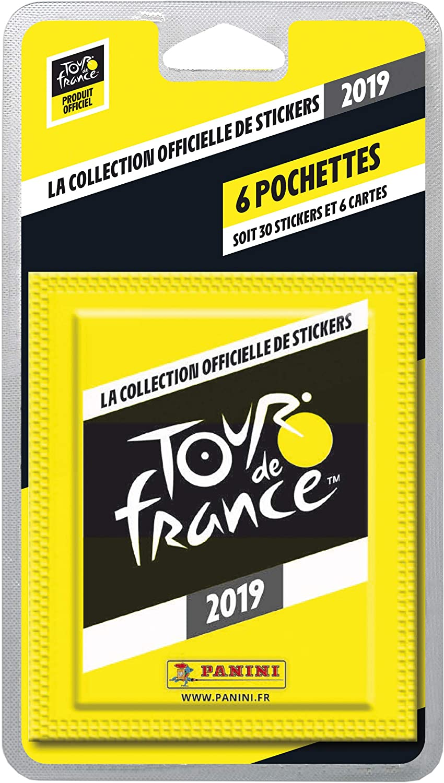 Panini France SA 2019 2508-038 6 Envelopes Tour de France Design