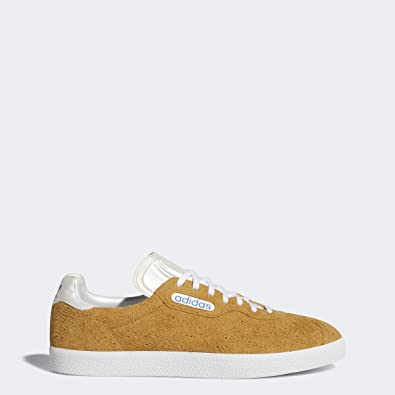 adidas Mens Gazelle Super X Alltimers Lace Up Sneakers Shoes Casual - Yellow