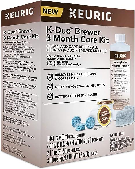 Regular None Keurig 5000351184 K-Duo 3 Month Care Brewer ...
