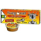 FUEGO NET Fuegonet 231112 Gel para Fondues Transparente 3x8.5x26.5 cm