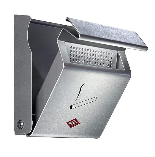 B//H//T 23.2x28.5x6.2cm Wesco Wandascher Silber 395001-11 Edelstahl