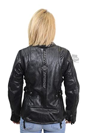 c4527d5cedce Amazon.com  Harley-Davidson Womens Venos Perforated 3-in-1 Leather Jacket  97010-18VW (1 Wide)  Clothing