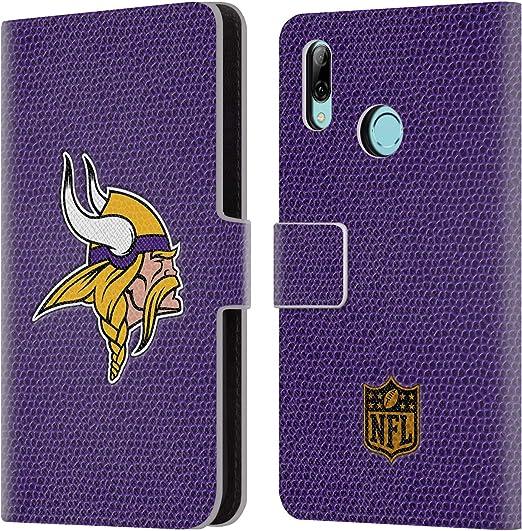 Head Case Designs Oficial NFL Fútbol Logotipo de Minnesota Vikings Carcasa de Cuero Tipo Libro Compatible con Huawei P10: Amazon.es: Electrónica