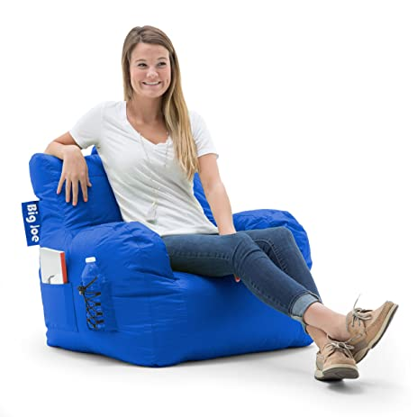 Big Joe Dorm Bean Bag Chair Sapphire