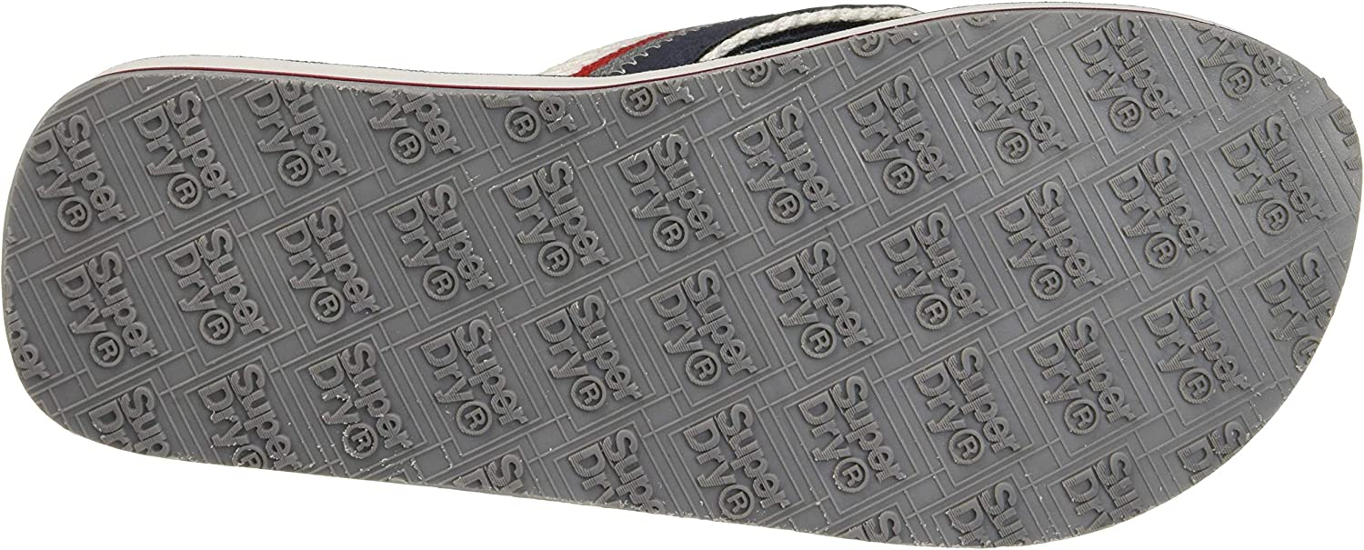 Superdry Roller Flip Flop, Tongs Homme Multicolore Dark Navy Red White W2v