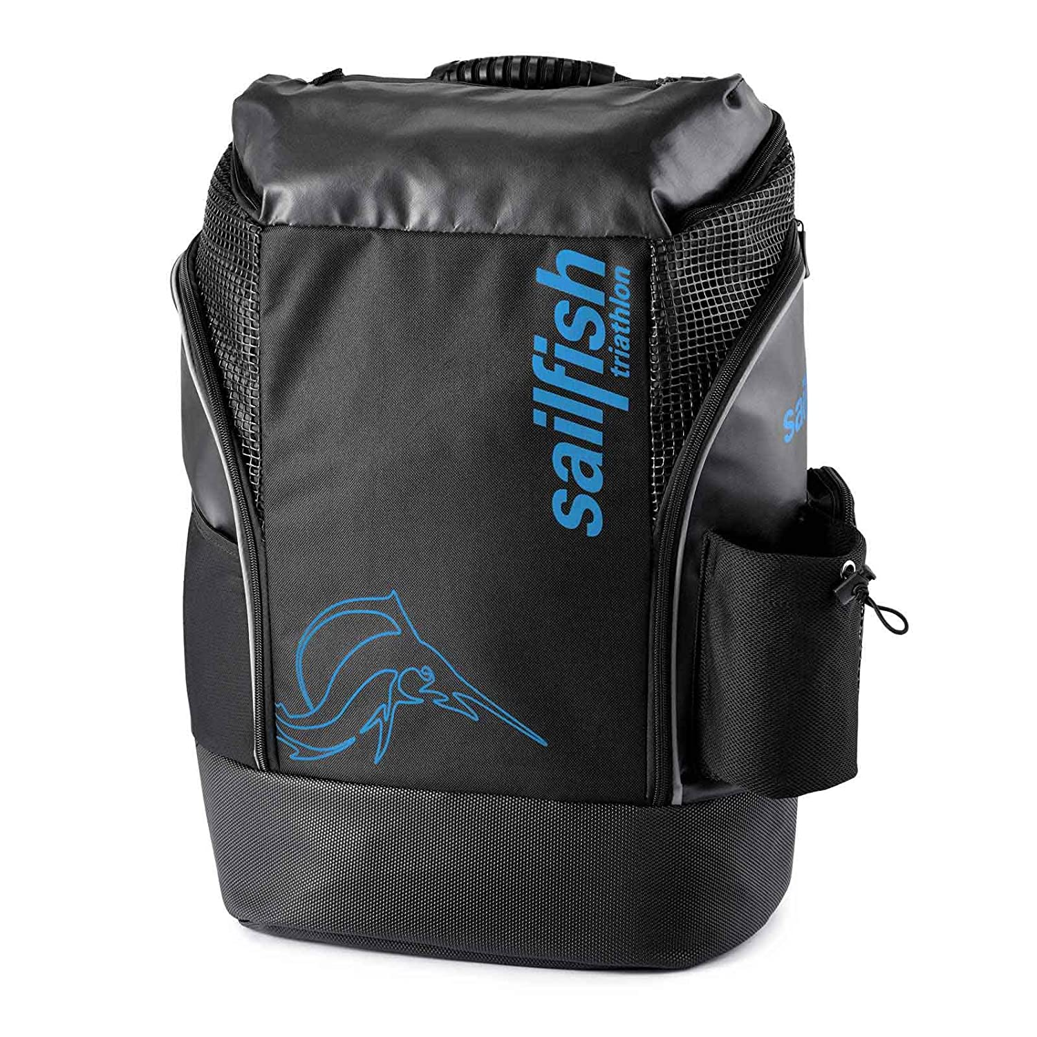 Mochila Sailfish 35 Litros - Backpack Cape Town (Black / Blue): Amazon.es: Deportes y aire libre