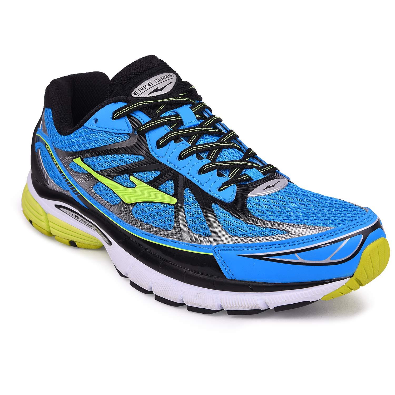 Buy Erke Men's Blue Mesh Running Shoes