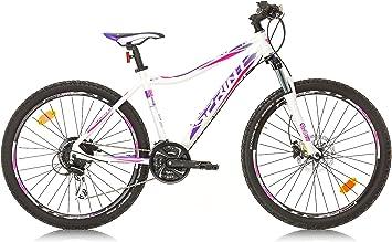 SPRINT APOLON, Bicicleta de montaña para Mujer, Color Blanco/Morado, M: Amazon.es: Deportes y aire libre
