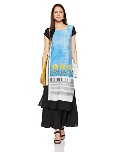 W for Woman Straight Kurta Kurtas & Kurtis at amazon