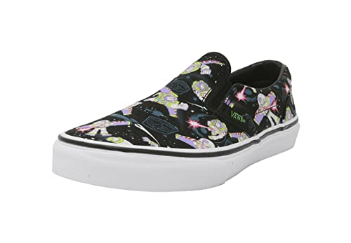 Vans Kids Shoes Classic Slip On Disney Pixar Toy Story Buzz Lightyear Black