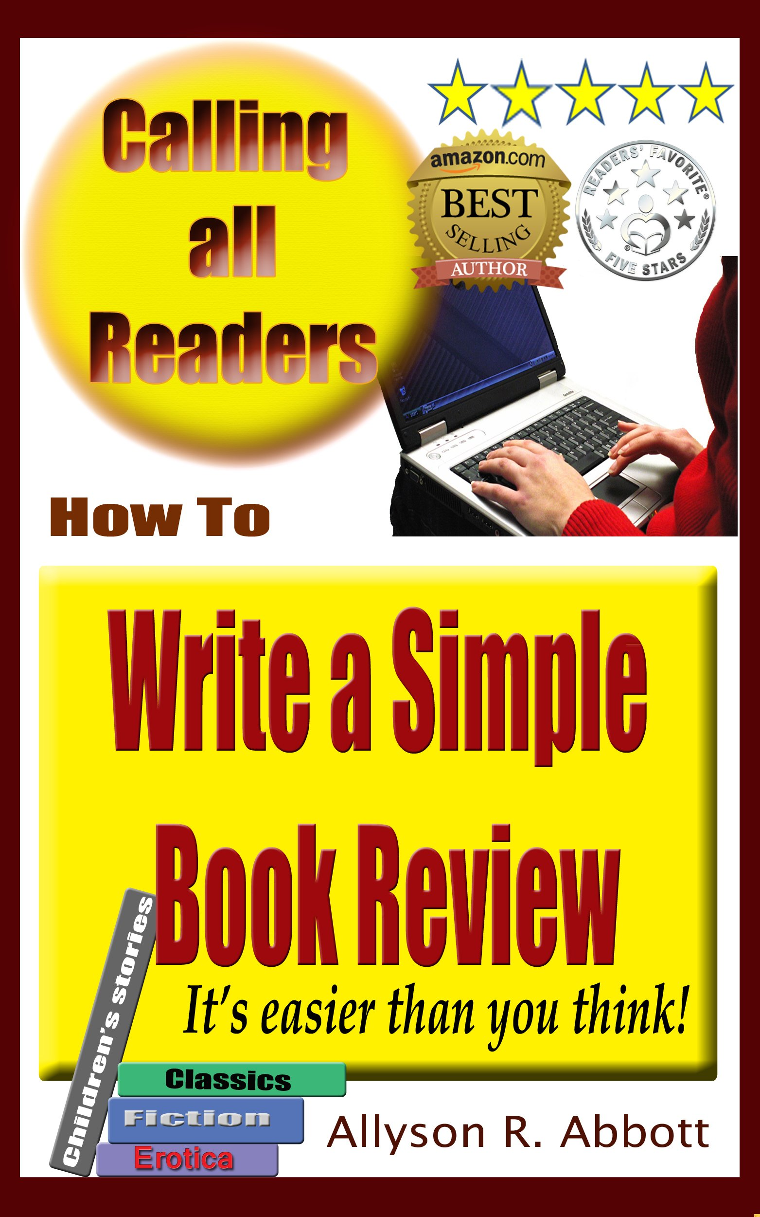 How To Write A Simple Book Review  It's Easier Than You Think  English Edition