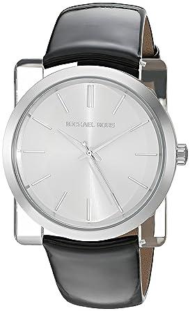 e6c8b2d63043 Image Unavailable. Image not available for. Color  Michael Kors Women s  Kempton Black Watch MK2483