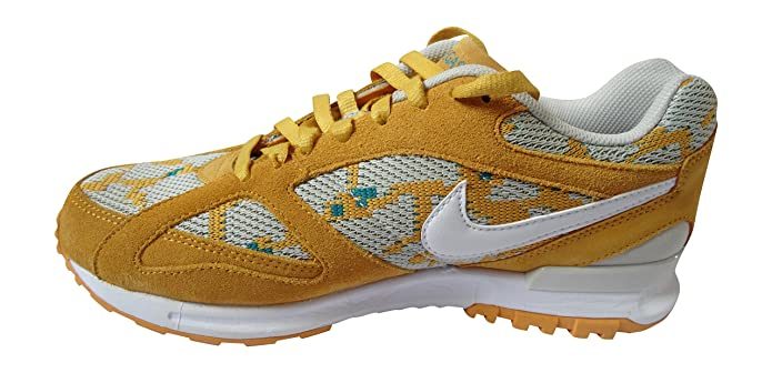 Nike Air Pegasus New Racer PA, Chaussures de Running Entrainement Homme,  Multicolore-Amarillo/Blanco/Verde (Canyon Gold/White-Rdnt Emerald), ...