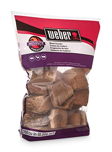 3. Weber 17150 Mesquite Wood Chunks