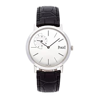 499c0610048 Image Unavailable. Image not available for. Color  Piaget Altiplano  Mechanical (Hand-Winding) Silver Dial Mens Watch ...