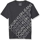Calvin Klein Playera de Cuello Redondo. Camiseta para Niños