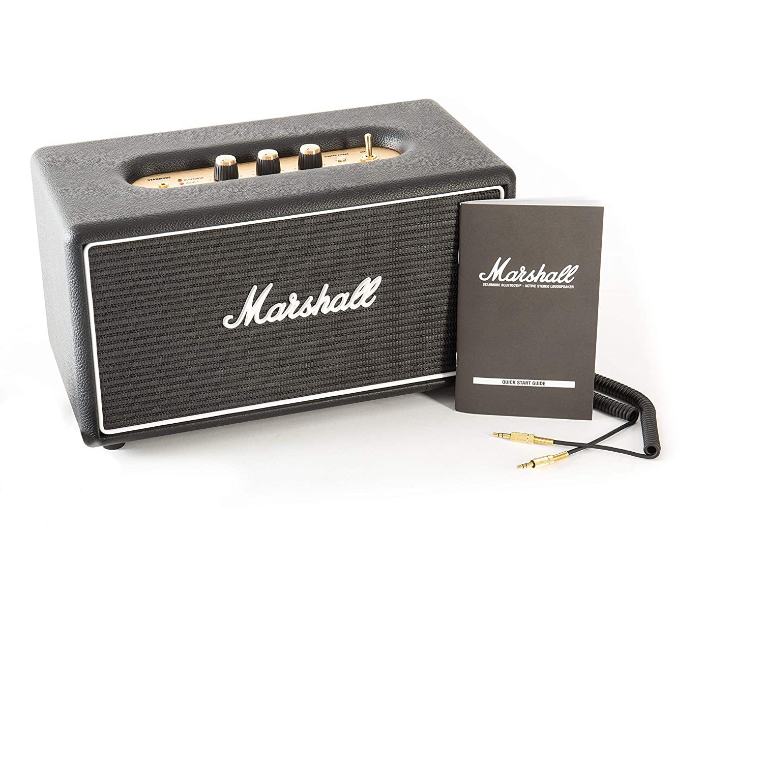 Marshall Stanmore Classic Line Bluetooth Speaker System (Black)  Amazon.in   Electronics 526bcfe3cd46f