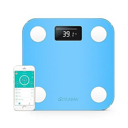 YUNMAI –Báscula de baño inteligente con Bluetooth y