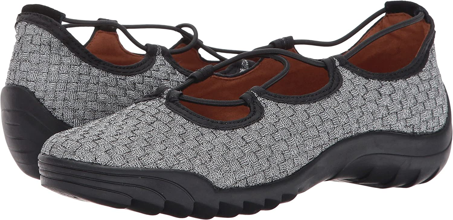 Bernie Mev Womens Rigged Connect Low Top Slip On Walking Shoes
