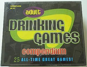 Adult Drinking Games Compendium: Amazon.es: Juguetes y juegos