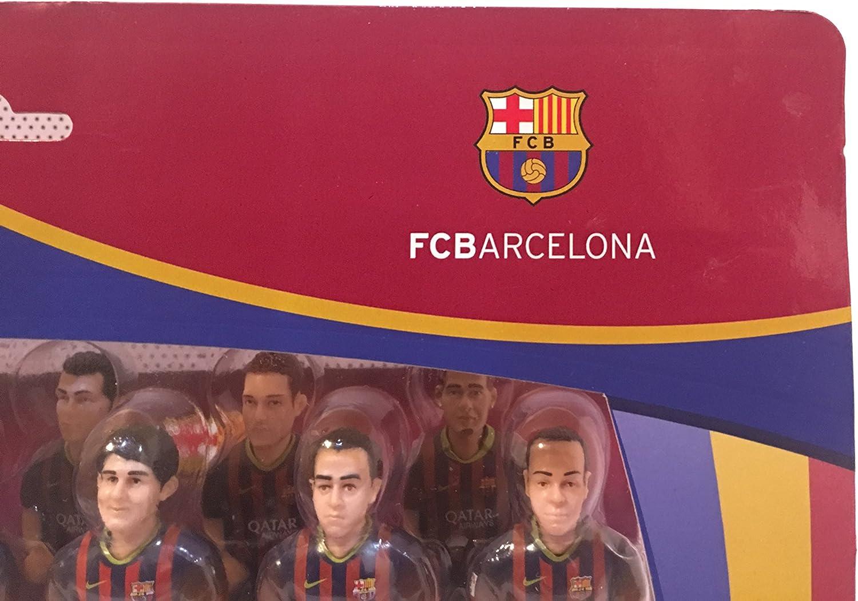 Figuras de equipo para futbolín Minigols - 5BAR-1314-2, Barcelona ...