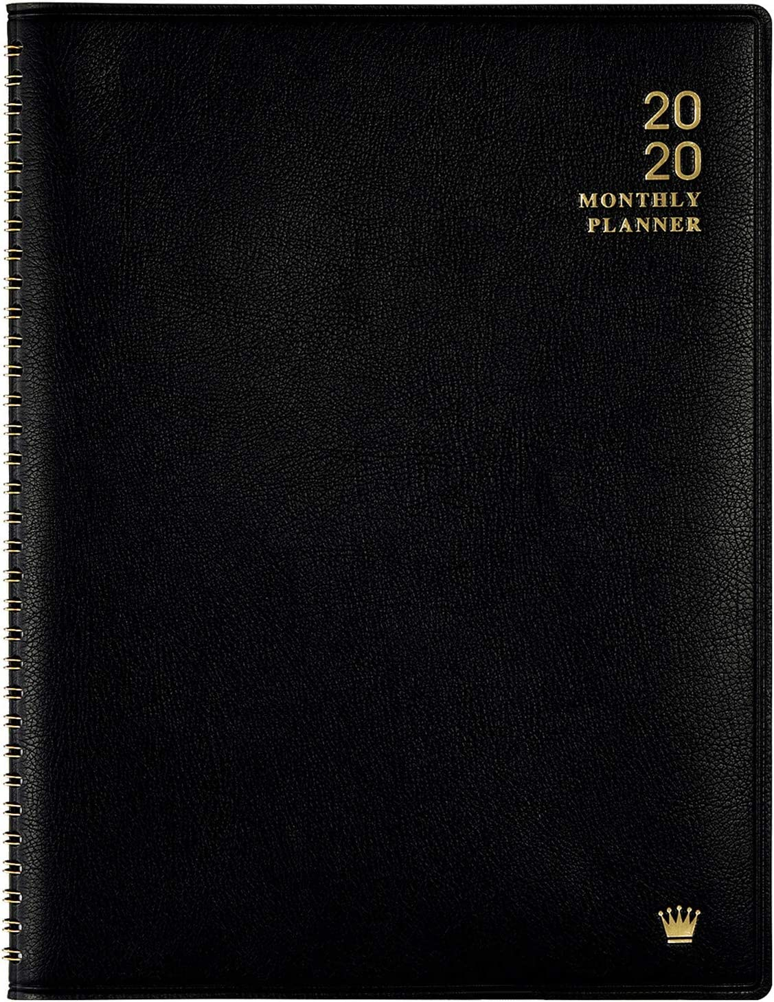 Black FranklinCovey Classic FC Basics Wide Simulated Leather Open Wire-Bound Cover