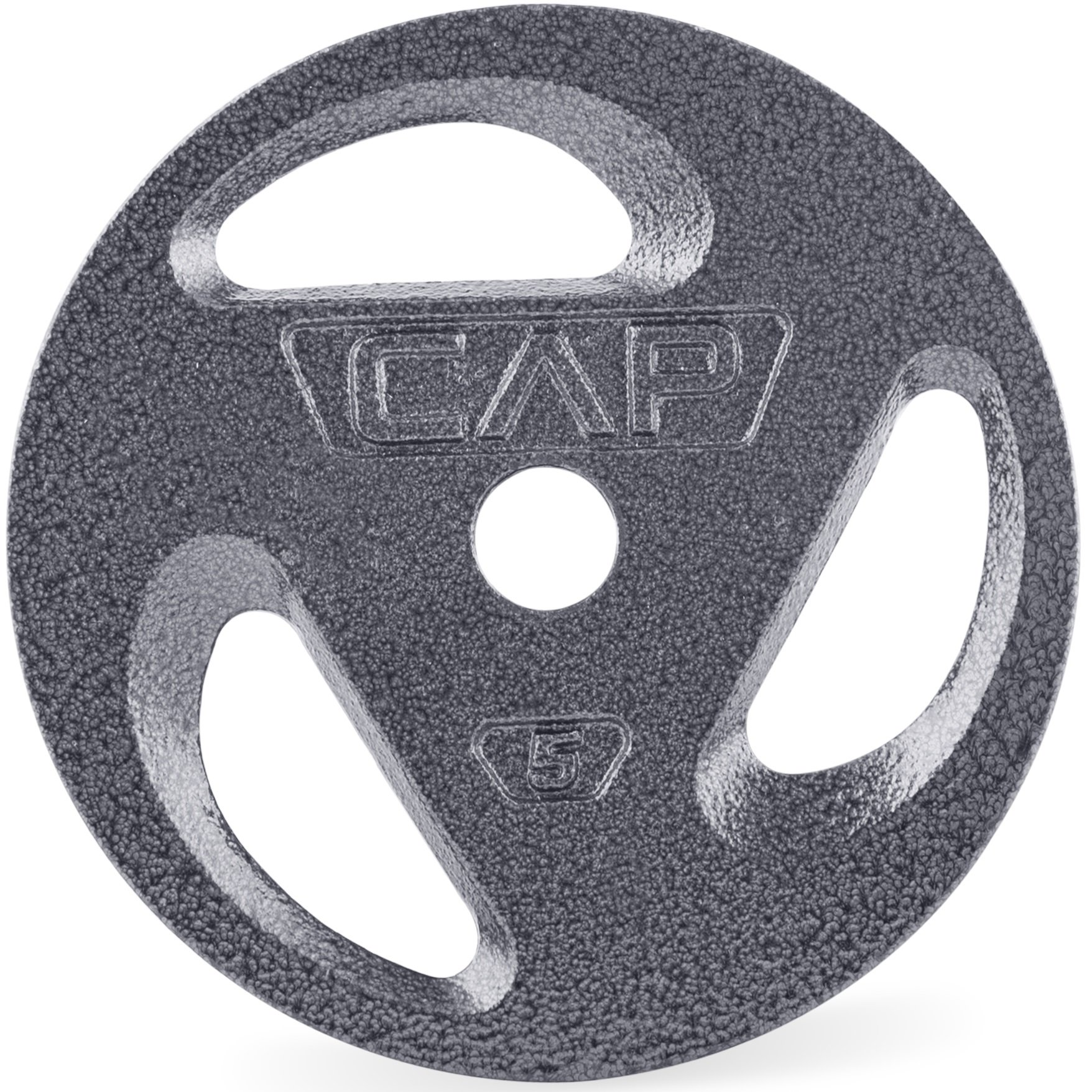 CAP Barbell Standard 1-Inch Grip Plates, Single, 5 Pound
