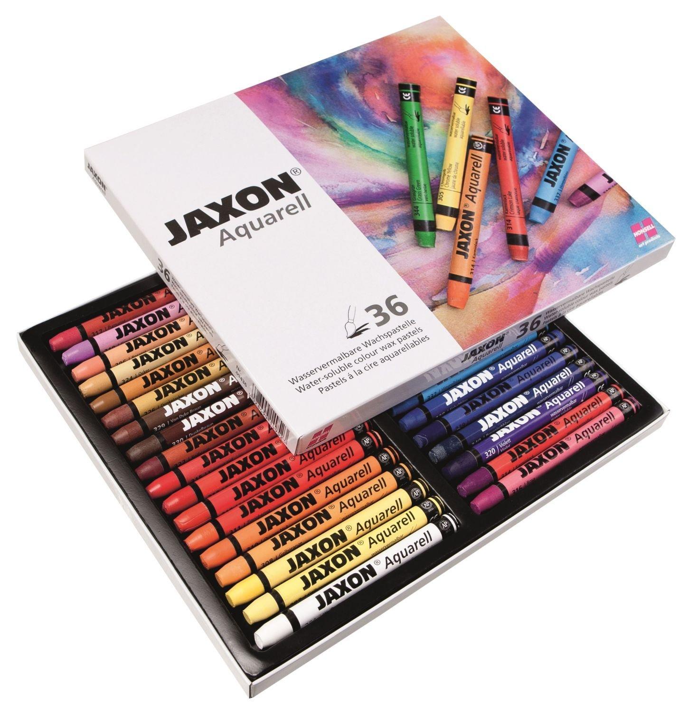 Jaxon - Lot de 36 Craies aquarellables