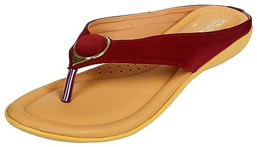 Maroon Fashion Sandals
