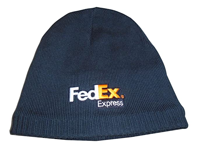 6a69e10a Image Unavailable. Image not available for. Color: FedEx Express Embroidered  Knit Cotton Beanie Skull Cap Black